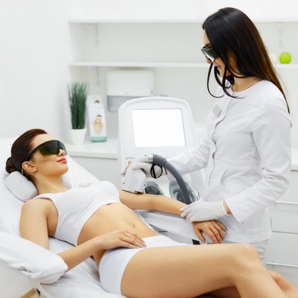 depilacja laserowa całego ciała